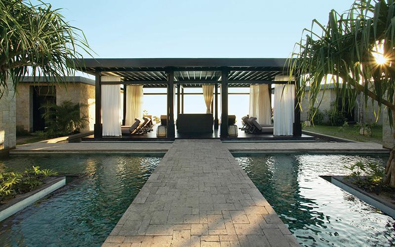 Bulgari Bali Spa Relaxation Area - Destination Deluxe