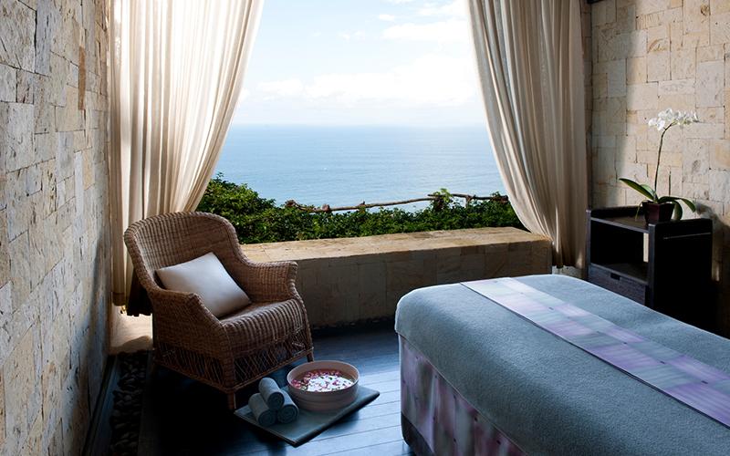 Bulgari Bali Spa Treatment Room - Destination Deluxe