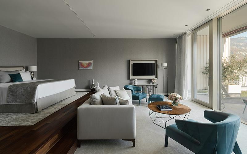 Chenot Palace Weggis Junior Suite Retreat Switzerland - Destination Deluxe