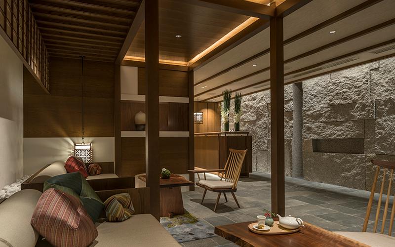 Four Seasons Kyoto Spa Lounge - Destination Deluxe