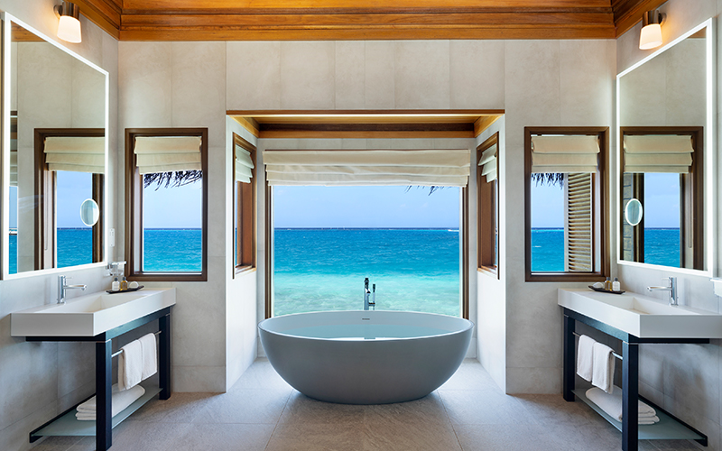 Huvafen Fushi Most Beautiful Bathtubs in the World - Destination Deluxe