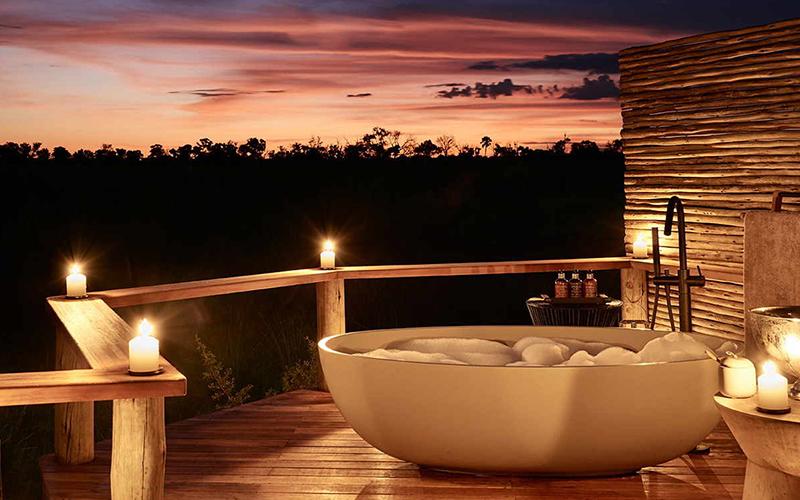 Sanctuary Baines Camp Most Beautiful Bathtubs - Destination Deluxe