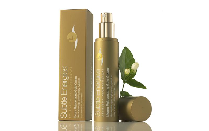 Light Moisturizers - Subtle Energies Mogra Rejuvenating Gold Cream - Destination Deluxe