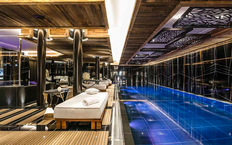 Ultima Spa at Ultima Gstaad - Destination Deluxe